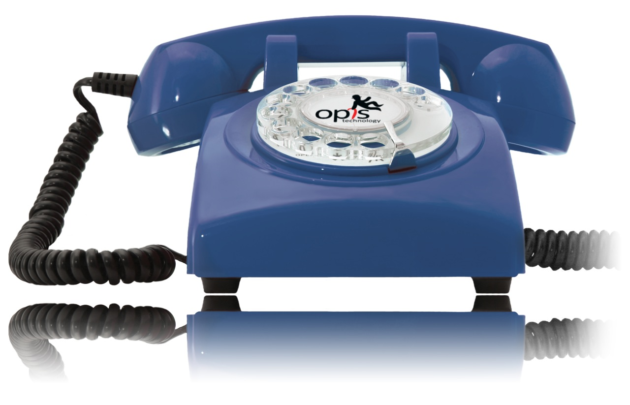 Opis-60s-cable-the-landline-retro-vintage-rotary-dial-telephone-phone-in-blue